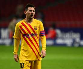 Lionel Messi has been linked many times with City. AFP