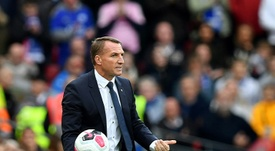 Rodgers signs new Leicester deal, ending Arsenal link. AFP