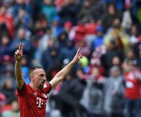 Ribéry parle du Ballon d'Or 2013. AFP