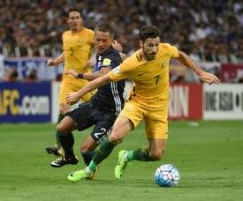 El internacional por Japón se encuentra entre los intereses del Leeds. AFP