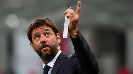 Andrea Agnelli is the chairman of the European Club Association. AFP
