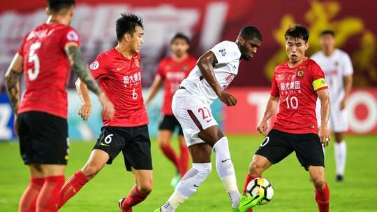 Modeste's time in China looks to be coming to an end. AFP