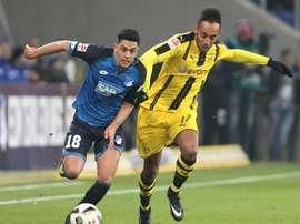 Amiri a prolongé à Hoffenheim. AFP