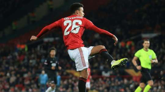 Greenwood stars as United youth shines in Europa League. AFP