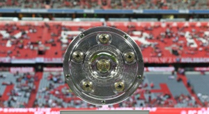 The Bundesliga's suspension has been extended. AFP