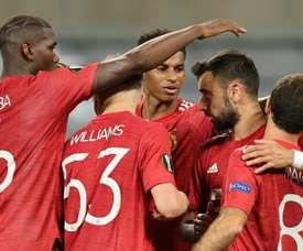 Bruno Fernandes, feliz de poder enfrentarse a Gudelj. AFP