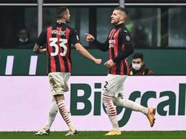 Ante Rebic (R) and Ante Rebic have both got over coronavirus. AFP
