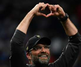 Klopp led Liverpool to Champions League success. AFP