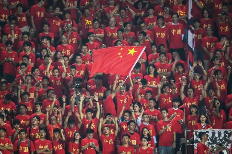 A major corruption scandal rocked Chinese football a decade ago. AFP