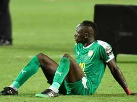 Sadio Mané a perdu une occasion de gagner la CAN. AFP