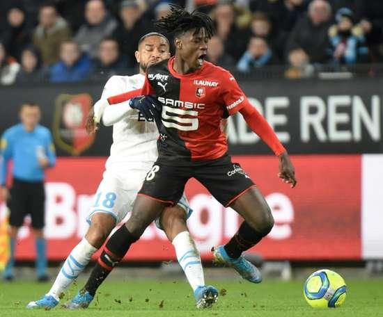 Camavinga è felice al Rennes. AFP