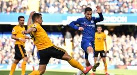 Hazard salva Chelsea da derrota. AFP