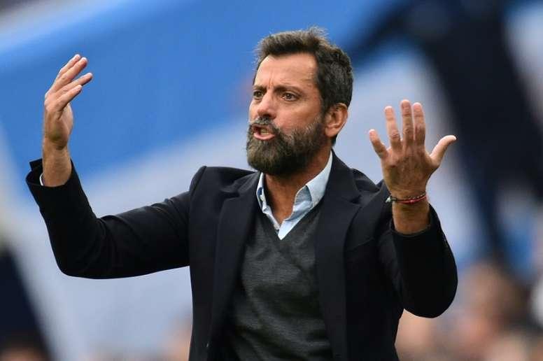 Quique Sanchez Flores has lost his job as Watford manager. AFP