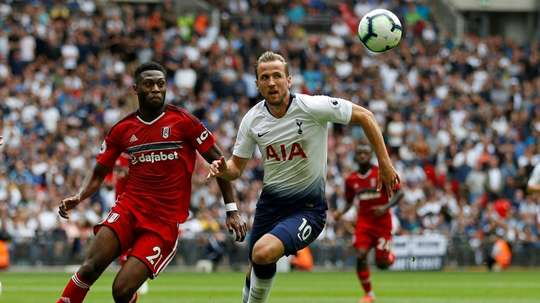 Harry Kane has never scored in August before. AFP
