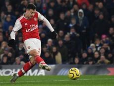 Arsenal drew 2-2. AFP