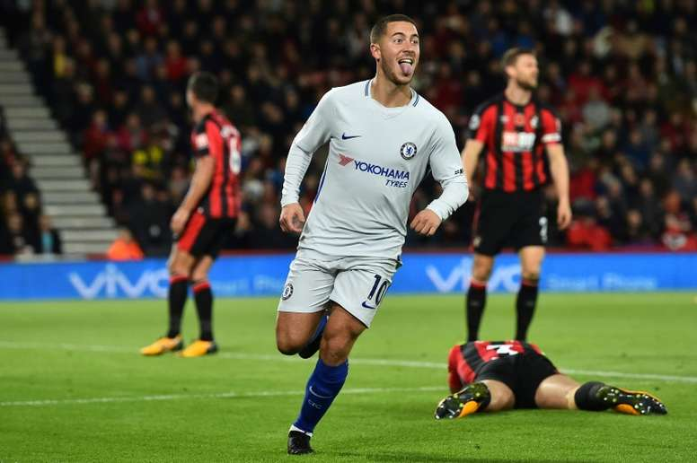 Hazard s'éloigne du Real Madrid. AFP