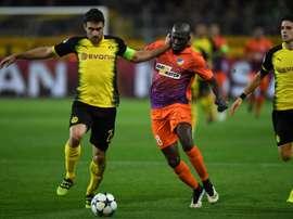 El defensa podría recalar en el Arsenal, tal y como ha confirmado su padre. AFP