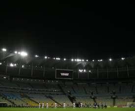 Brazil's Fluminense win right not to play next to COVID-19 hospital. AFP