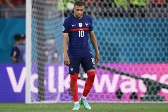 Hubo cierta tensión en la Selección Francesa. AFP