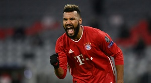 Choupo-Moting takes knee to make stand as Bayern win. AFP