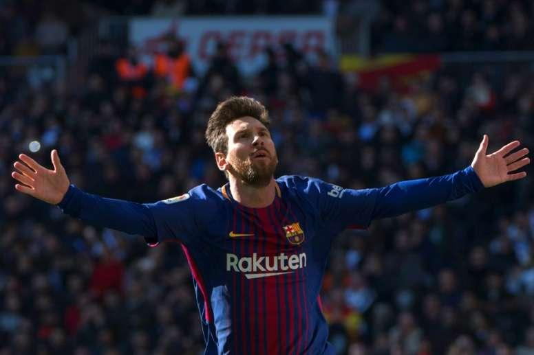 El sueldo de Messi, al descubierto. AFP