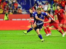 It was the first penalty awarded by VAR in Asian Cup history. AFP