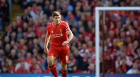 Steven Gerrard never won a Premier League medal. AFP