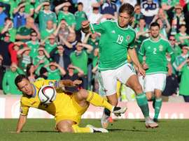 Ward has a dead leg and will therefore play no part of the match against Austria. AFP