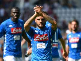 Insigne bagged two. AFP