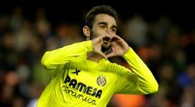 Adrian Lopez scored five goals in 23 appearances when on loan at Villarreal. AFP