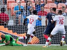 Football: Davies tallies again as Canada ties Costa Rica. AFP