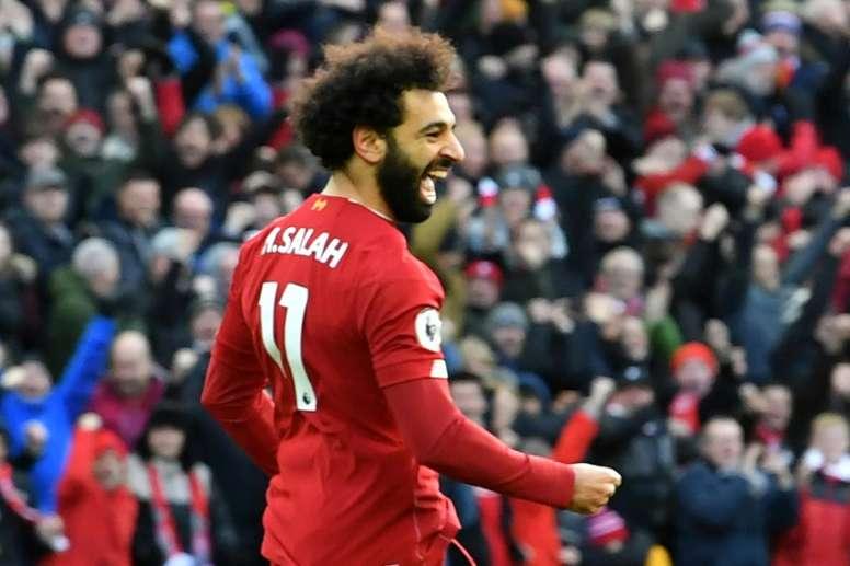 El Liverpool sufrió más de la cuenta para doblegar al Watford. AFP