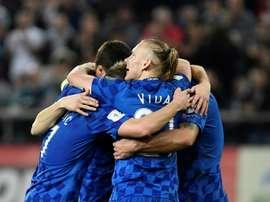 Vida achève son contrat avec le Dinamo de Kiev en janvier. AFP