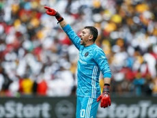 Wayne Sandilands saved two penalties in a 2-1 victory over SuperSport United. AFP
