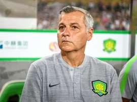 Bruno Génésio prolonge l'aventure en Chine. AFP