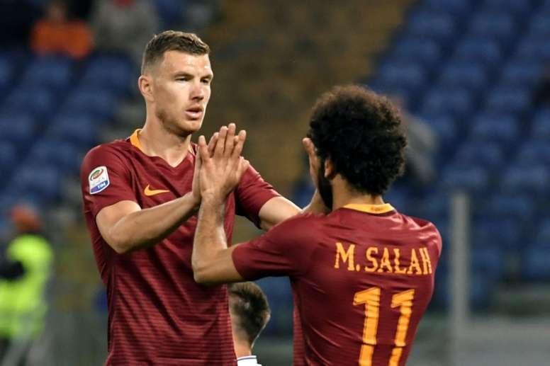 Roma venceu o Pescara por quatro bolas a uma. AFP