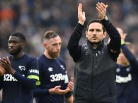 Lampard is poised for a return to Stamford Bridge. AFP