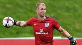 Hart is expecting to go on tour with City to the USA. AFP