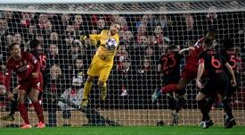 Oblak competirá con Navas y Neuer como el mejor de la Champions. AFP/Archivo