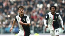 Dybala, Cuadrado fire Juventus back top against 10-man Brescia. AFP