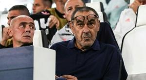 Sarri está impressionado com CR7. AFP