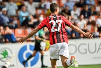 Le probabili formazioni di Milan-Atletico Madrid. AFP