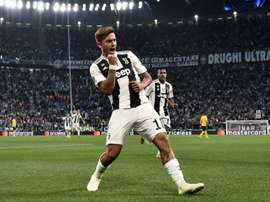 Dybala bagged a hat-trick. AFP