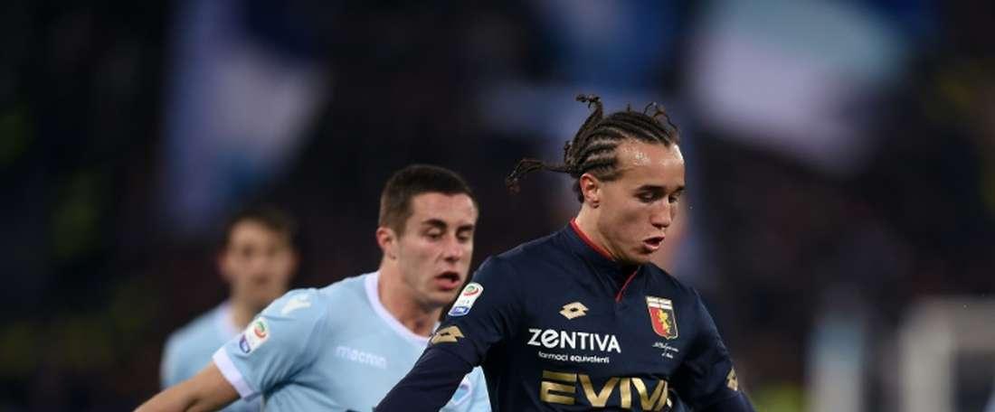 Laxalt stuns Lazio as Genoa ease drop fears. AFP