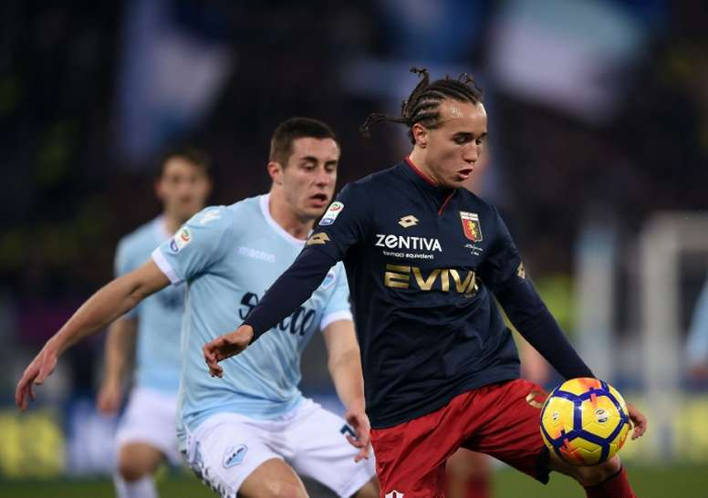 Laxalt stuns Lazio as Genoa ease drop fears. AFP