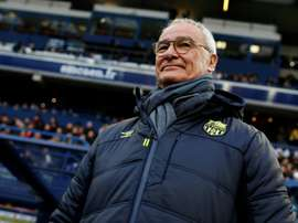 Ranieri quitte Nantes mais pas sans quelques bonnes pensées. AFP