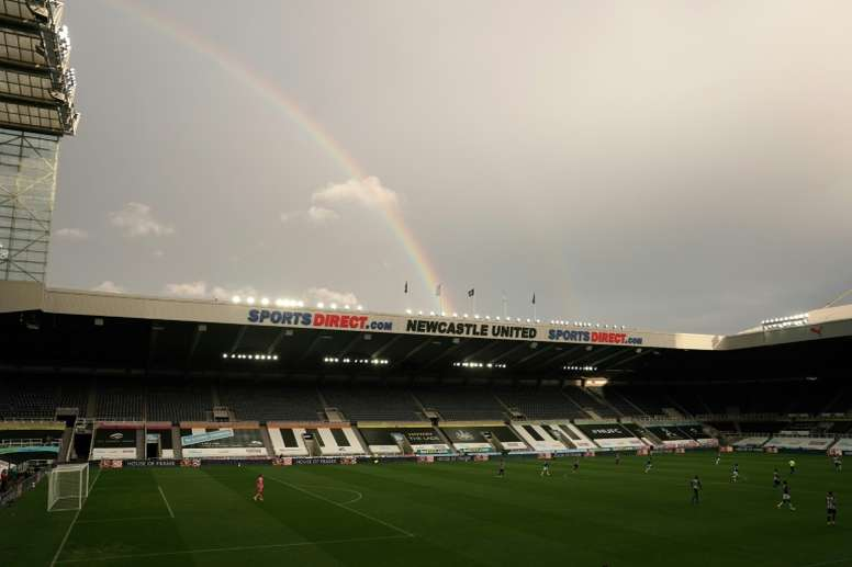 Newcastle will take legal action against the Premier League. AFP