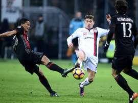 Nicolo Barella could join Juventus. AFP
