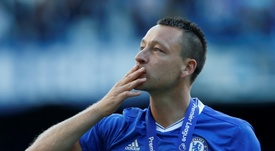 John Terry could be ending his playing career. AFP