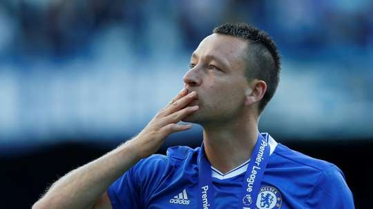 Former Chelsea captain John Terry left the club in 2017. AFP
